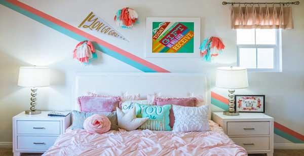 انتخاب بهترین رنگ برای ملحفه تخت خواب