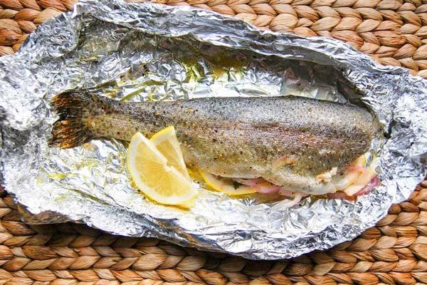 تنوری کردن ماهی ادویه مخصوص