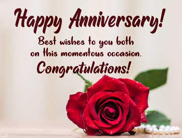 تبریک سالروز ازدواج به انگلیسی