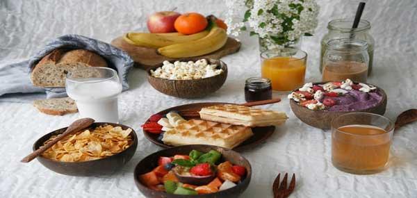 میز صبحانه کامل