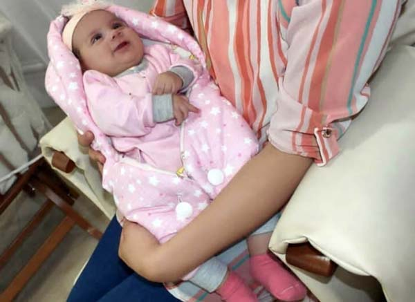 تشک آغوشی نوزاد