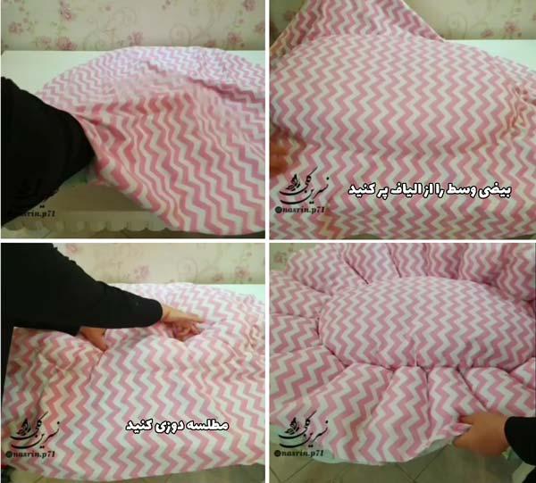 آموزش دوخت تشک گارد دار نوزادی