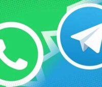 استفاده از استیکر های تلگرام در واتساپ