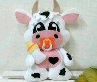 عکس مدل عروسک گاو نمدی