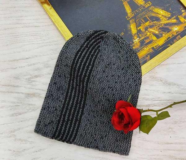 کلاه مردانه میل بافی