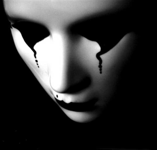 عکس سیاه سفید پروفایل دختر