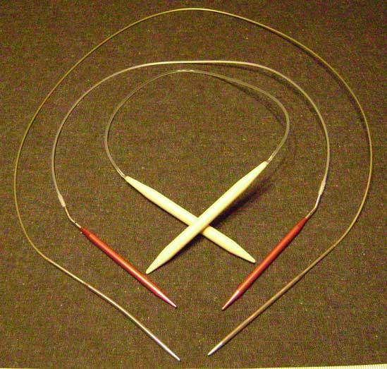 سایزهای مختلف میل گرد Circular Knitting Needle