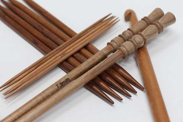 میل چوبی Knitting Needle