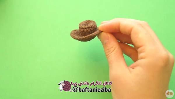 کلاه عروسک گاو کابوی