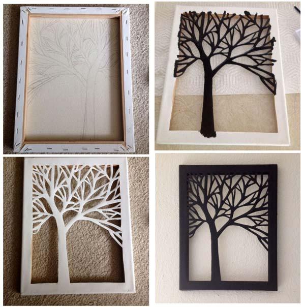 تابلو دیواری درخت