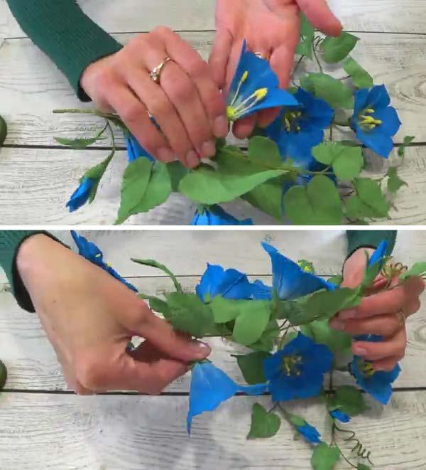 گل نیلوفر فومی