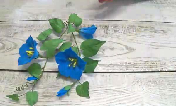 شاخه گل نیلوفر دست ساز