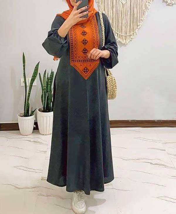 مانتو عید مدل سنتی