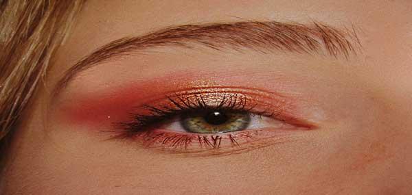 خط چشم دخترانه ساده