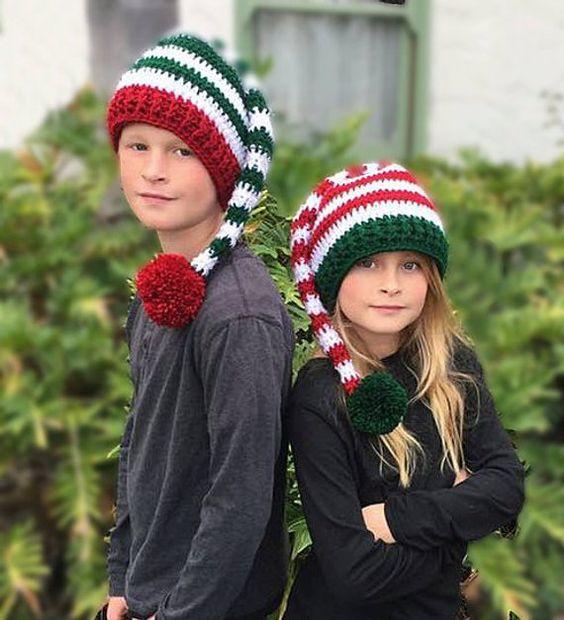 کلاه افتاده بچگانه قلاب بافی