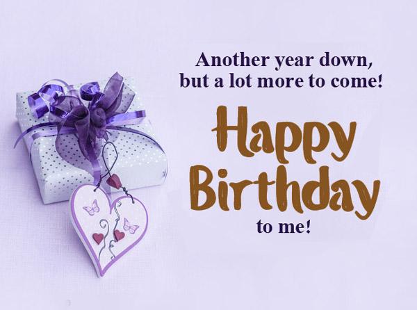 تبریک تولد به خود انگلیسی