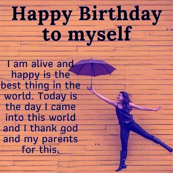 تبریک روز تولد به خودم