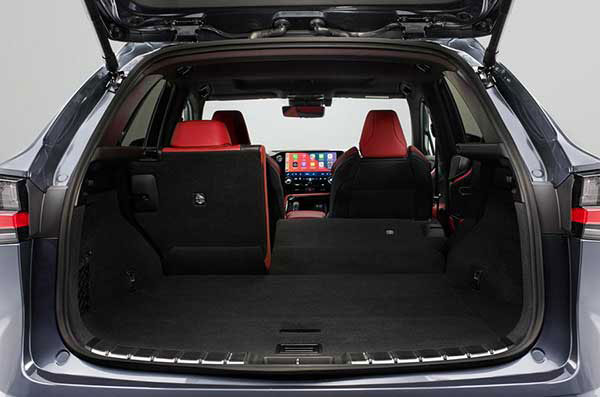 عکس صندوق عقب لکسوس ان ایکس 2021 - Lexus NX 2021 NX 350h و +NX 450h