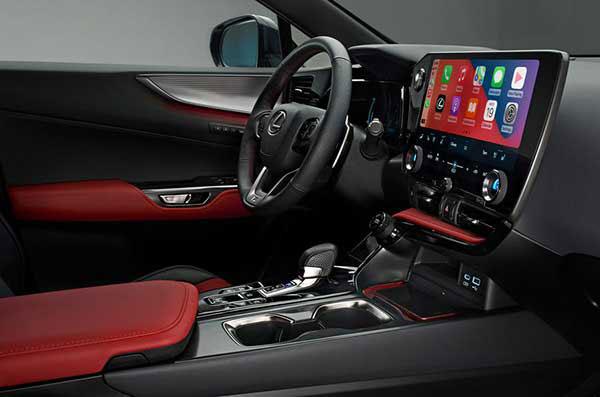 عکس نمای داخلی لکسوس ان ایکس سمت راننده 2021 - Lexus NX 2021 NX 350h و +NX 450h
