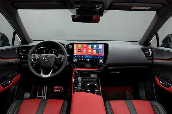 عکس نمای داخلی داشبورد لکسوس ان ایکس 2021 - Lexus NX 2021 NX 350h و +NX 450h