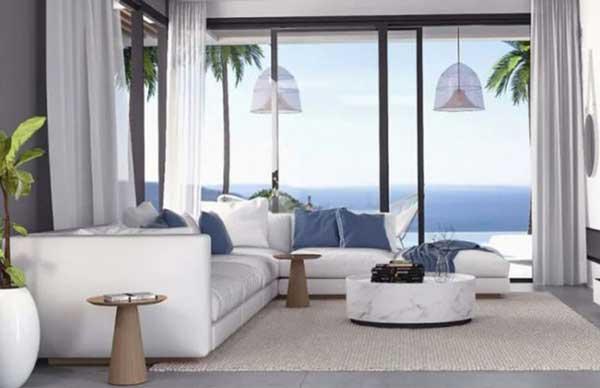 رنگ آمیزی روشن در طراحی داخلی منزل