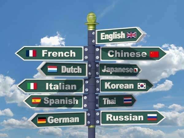 learning a new language online