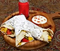طرز تهیه ساندویچ شاورما مرغ