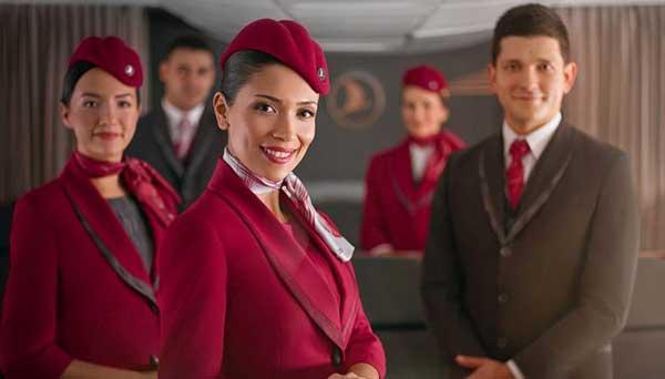 لباس مهمان داران هواپیما