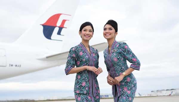 لباس مهمان داران هواپیمایی مالزی