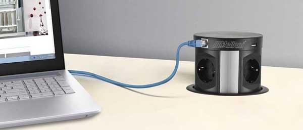 بهره مندی از پورت های USB و HDMI
