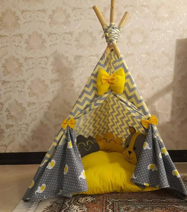 مدل چادر سرخپوستی