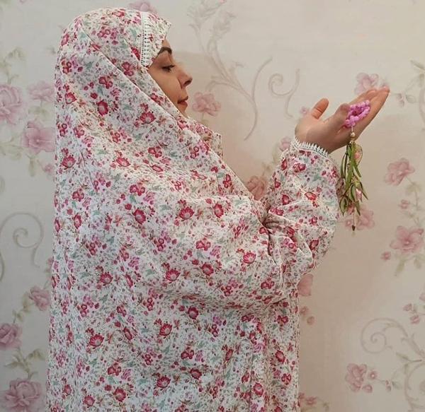 آموزش دوخت چادر نماز آستین دار