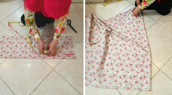 آموزش خیاطی چادر