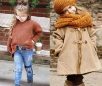 Autumn style for kids